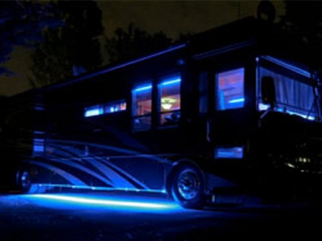 LED Lighting for motor homes