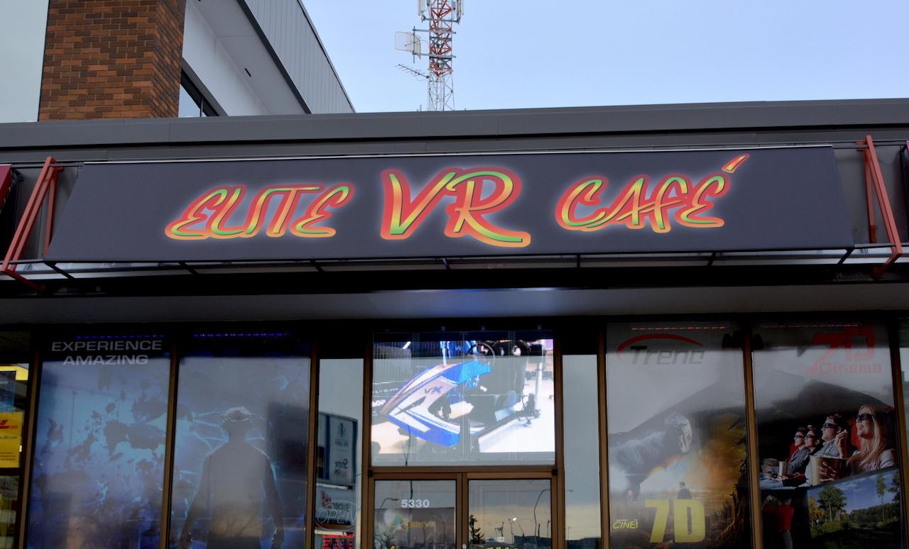 Business Sign - Elite VR Cafe by LED Pros