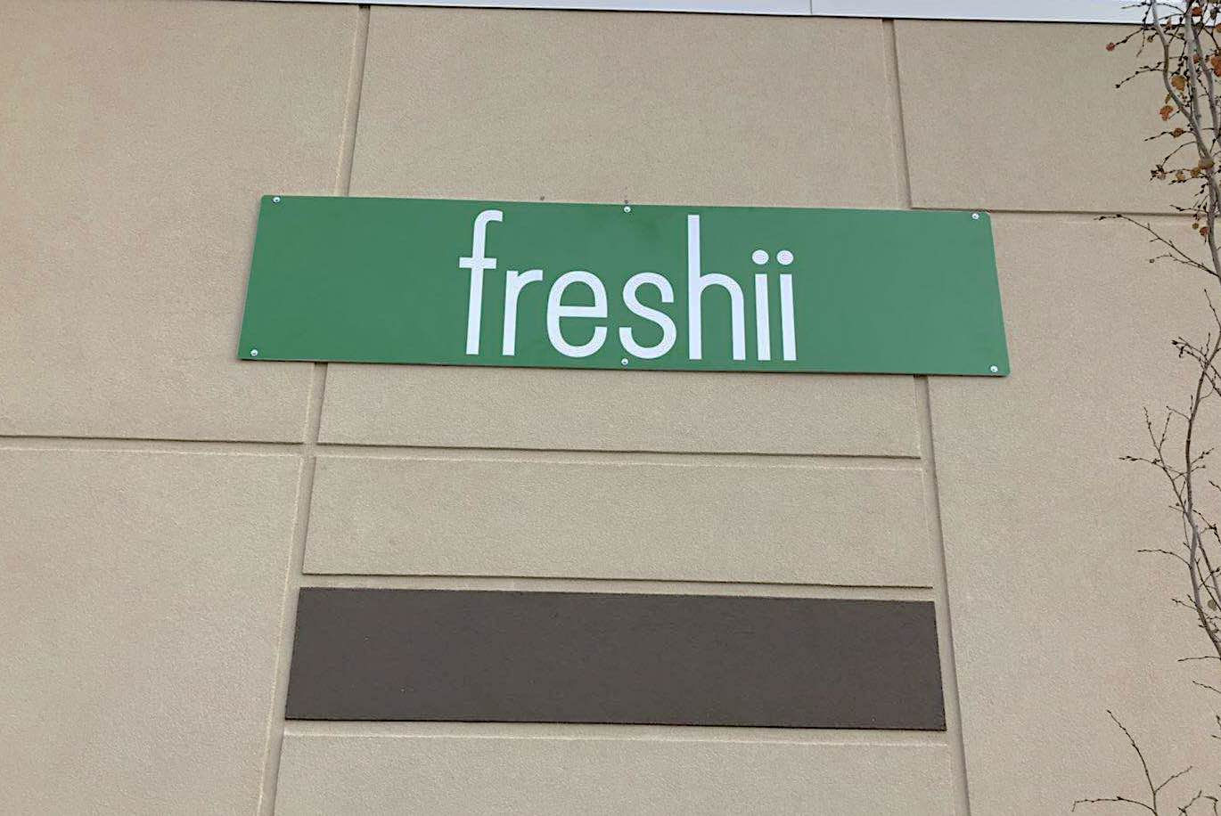 Business Sign - Freshii by LED Pros