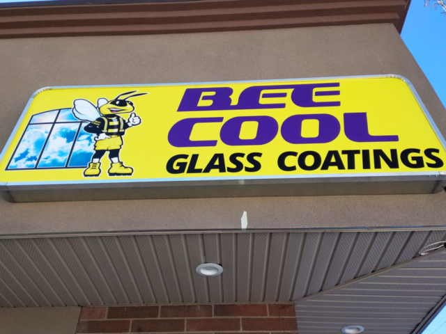 Cabinet Sign - Be Cool by LED Pros