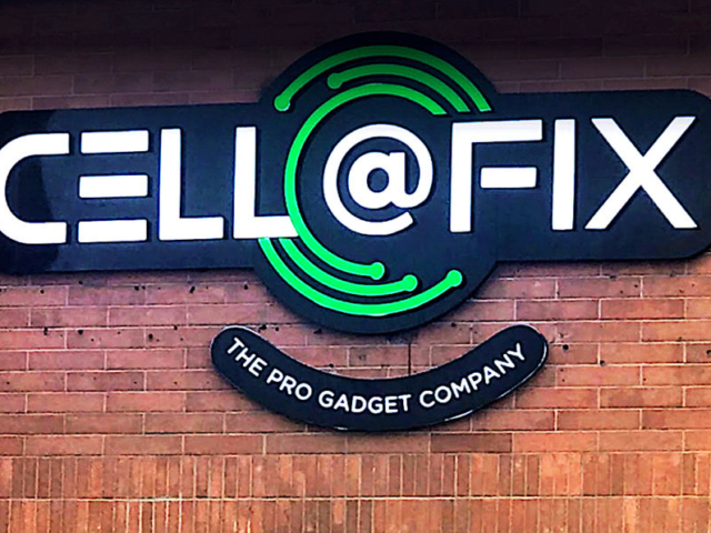 Channel Letters - Cell@FIX by LED Pros