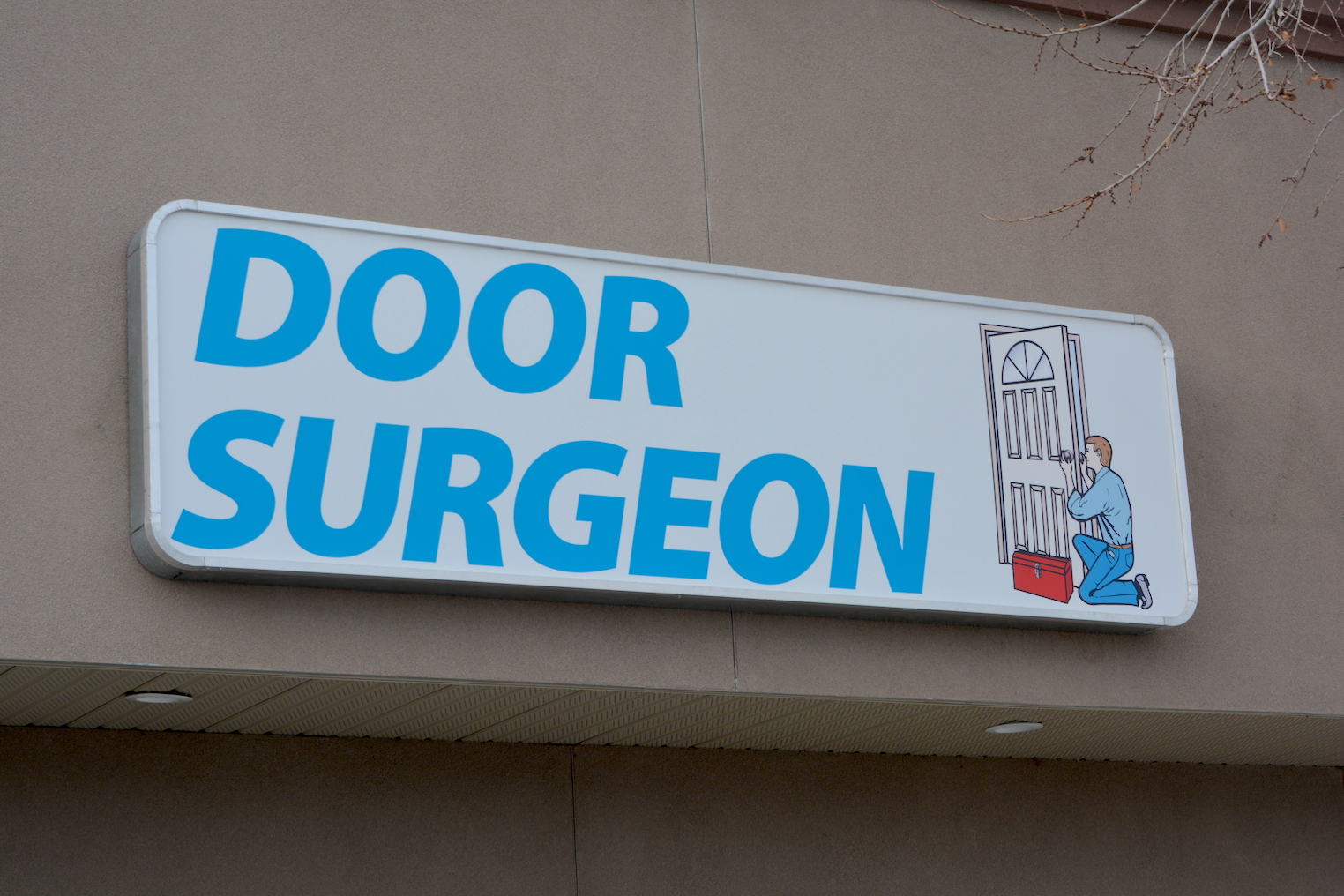 Channel Letters - Door Surgeon by LED Pros