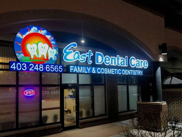 Channel Letters - East Dental Care by LED Pros