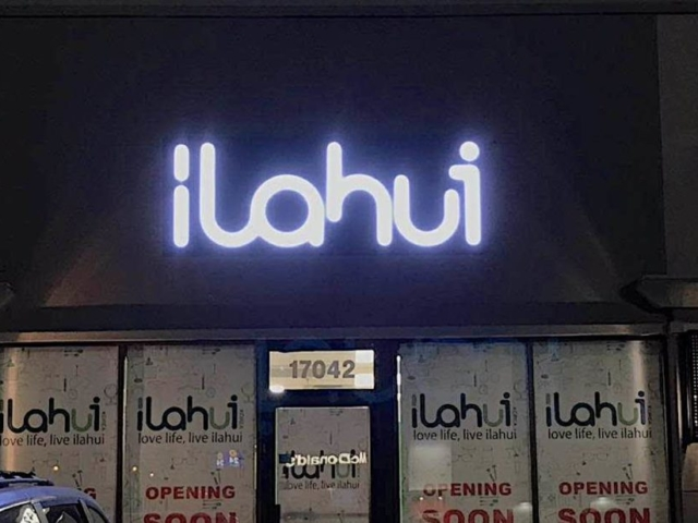 Channel Letters - Ilahui by LED Pros