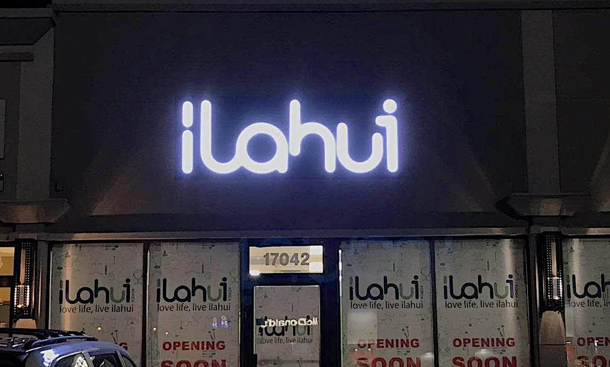 Channel Letters - Ilahui by LED Pros