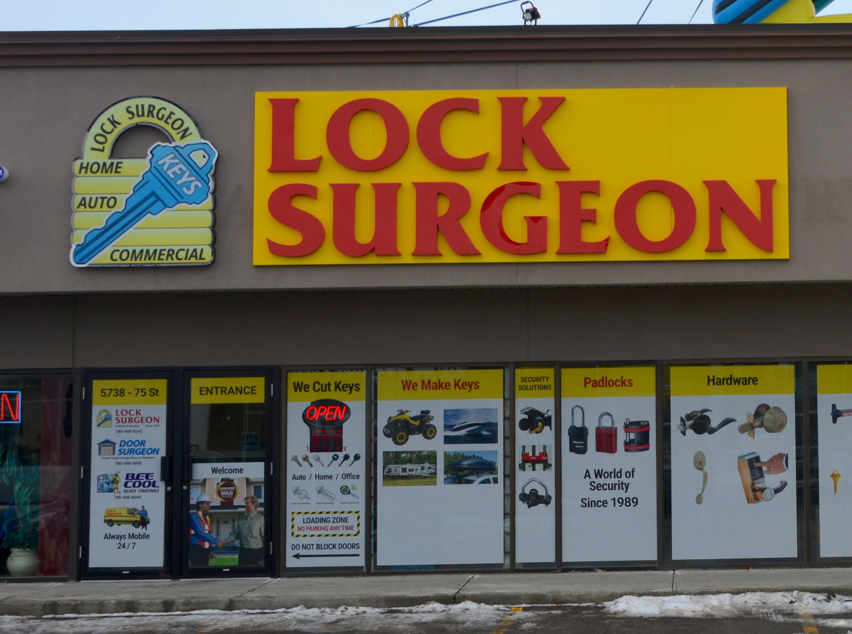 Channel Letters - Lock Surgeon by LED Pros