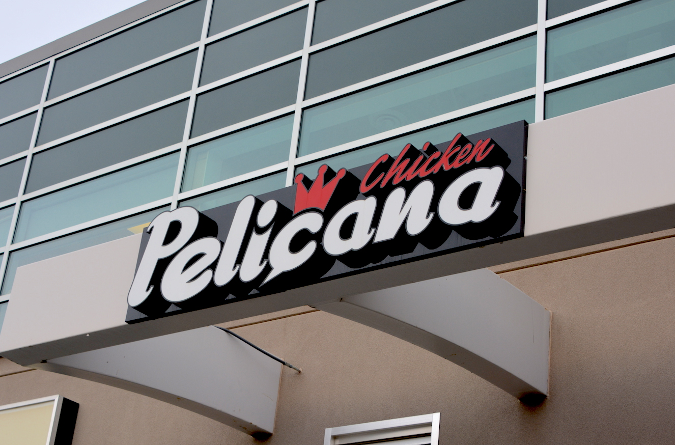 Channel Letters - Pelicana Chicken by LED Pros