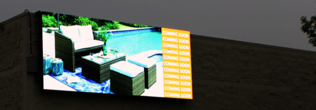 Billboard Sign - iFurniture by LED Pros