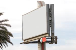 Billboard Pole Mounted