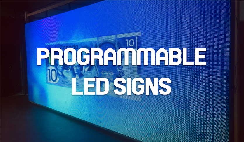 PROGRAMMABLE LED SIGN