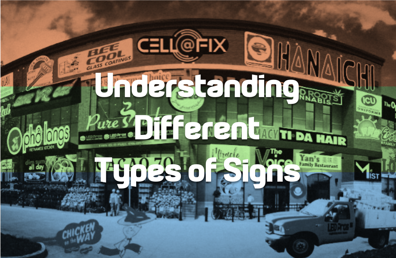 Understanding Different Types of Signs - LED Pros