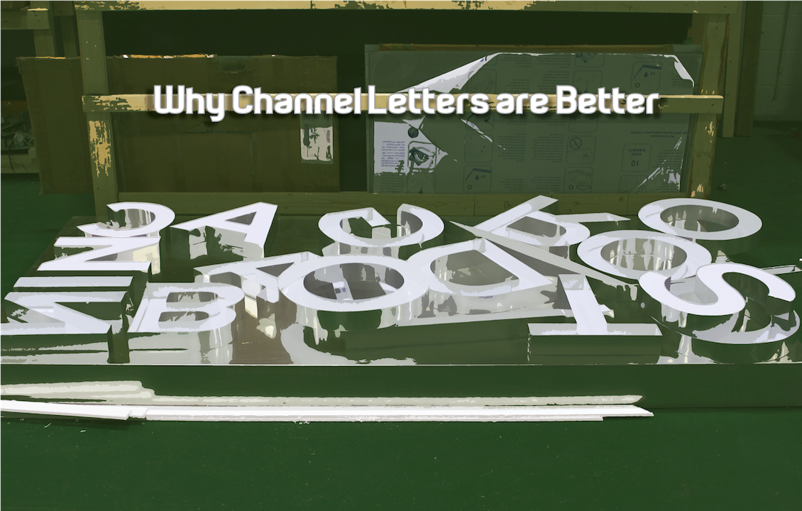 Why Channel Letters are Better - LED Pros
