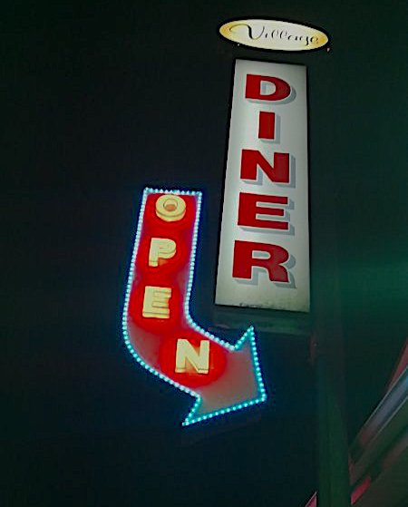 Business Sign - Village Diner by LED Pros