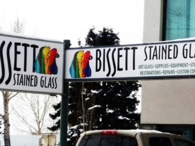 Cabinet Signs - Bissett by LED Pros