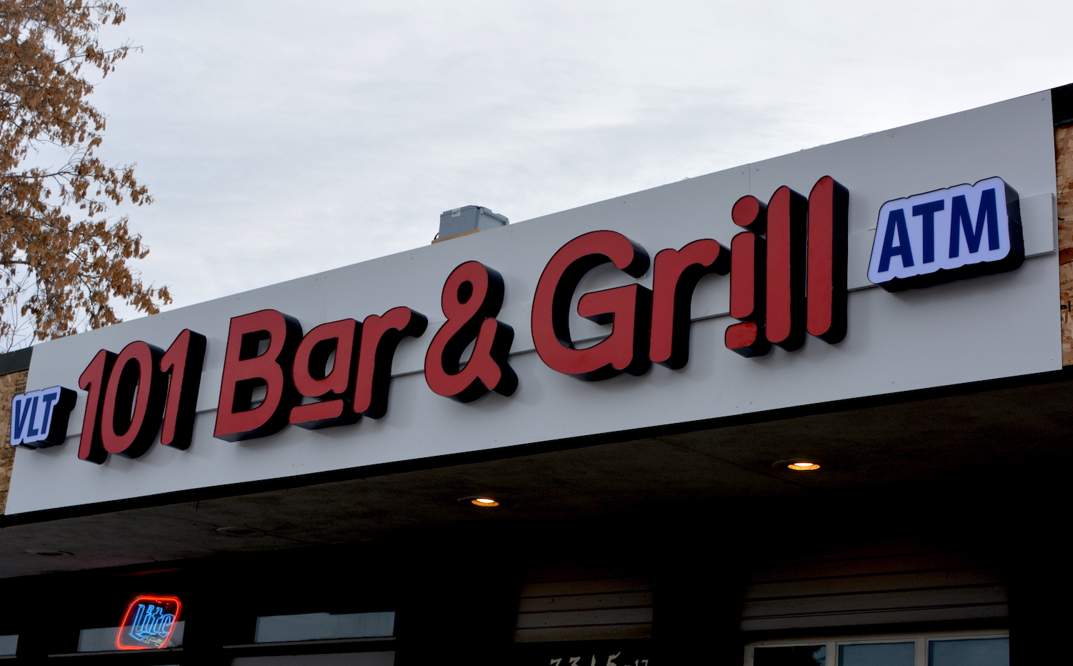 Channel Letters - 101 Bar & Grill by LED Pros