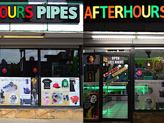 Channel Letters - Afterhour Pipes by LED Pros