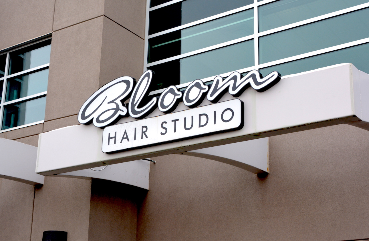 Channel Letters - Bloom Hair Studio by LED Pros