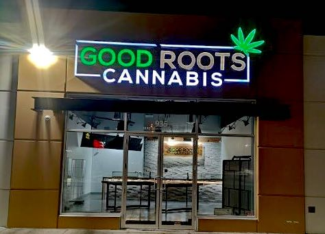 Channel Letters - Good Roots Cannabis by LED Pros