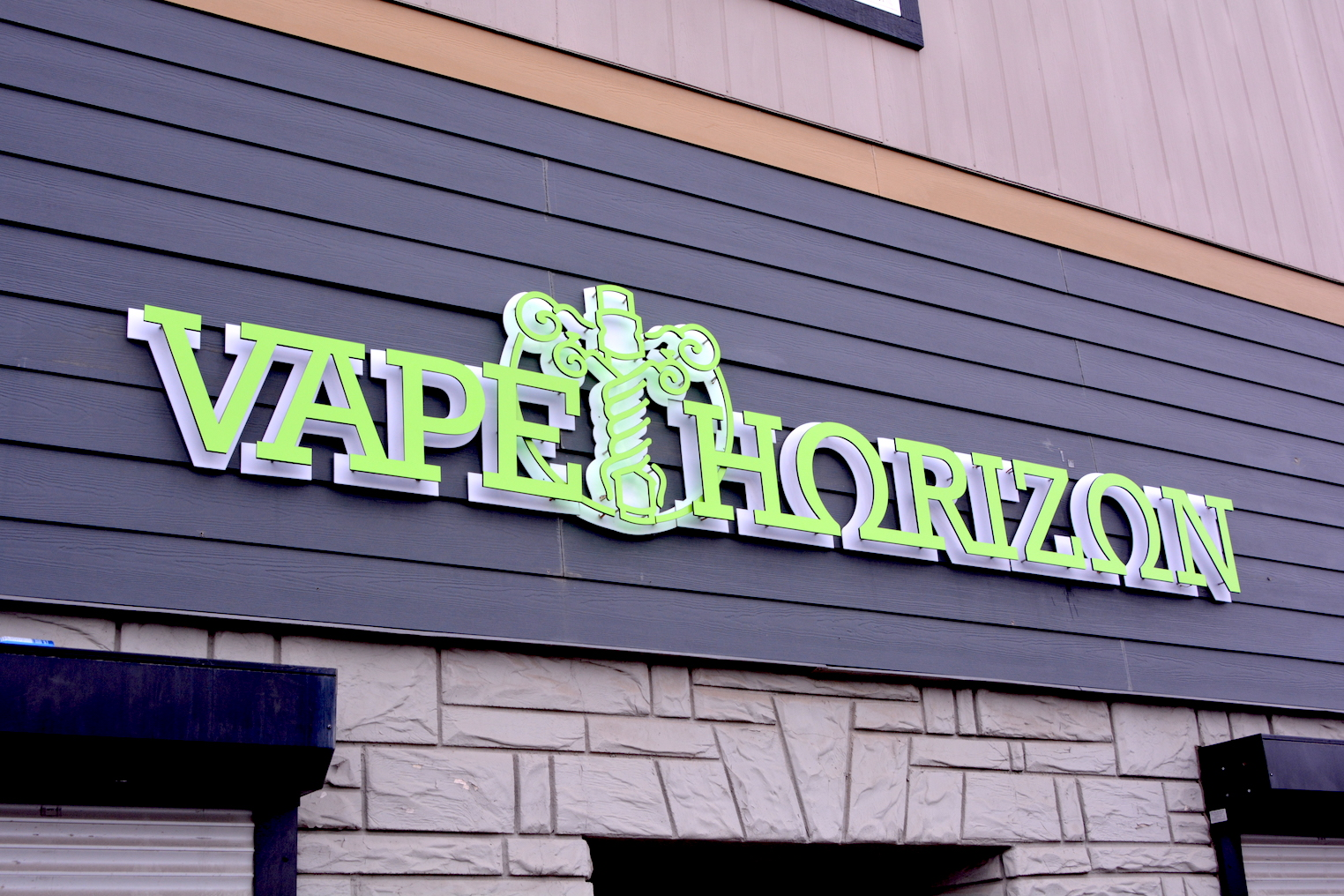 Channel Letters - Vape Horizon by LED Pros