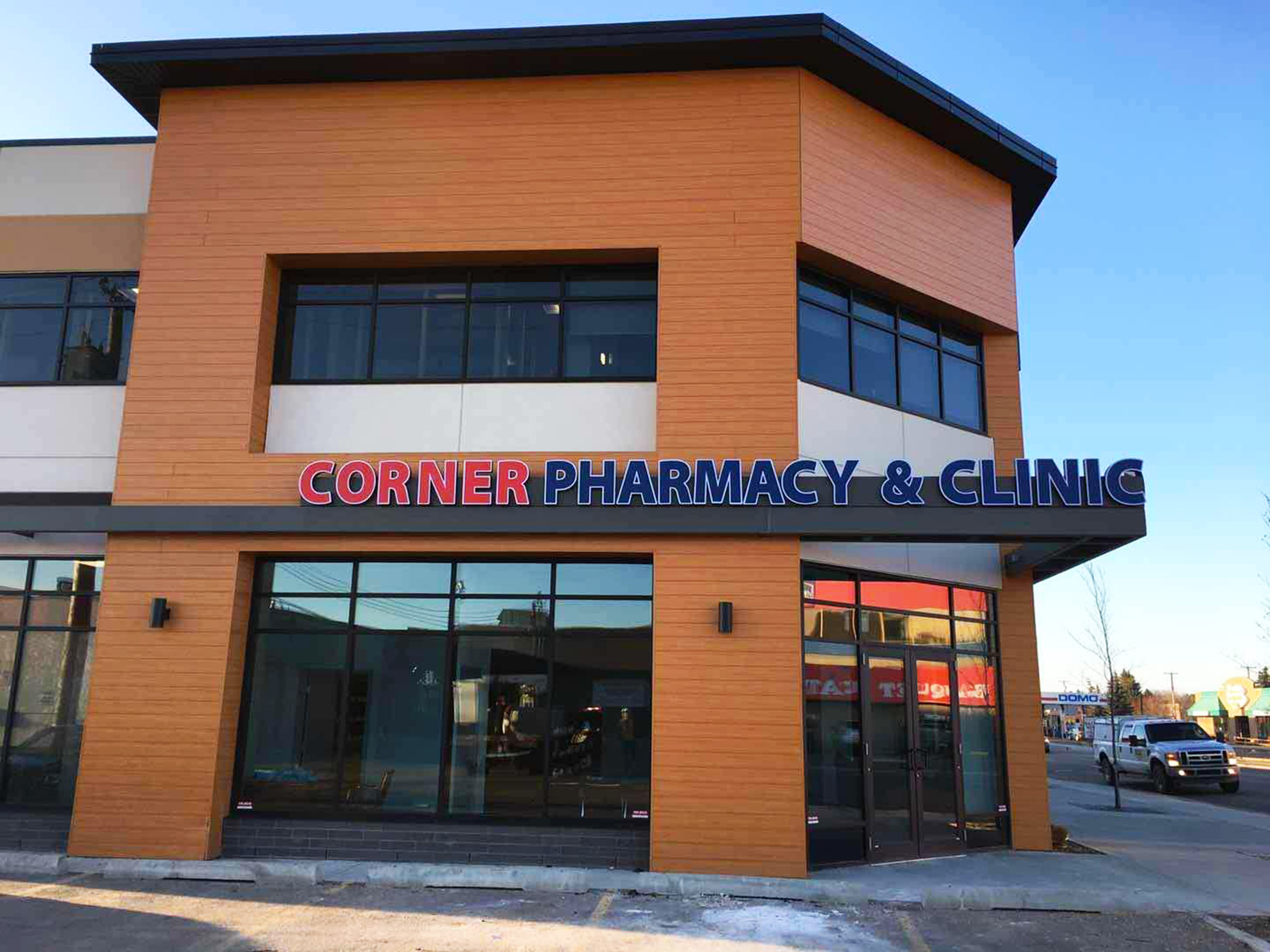 Channel Letters - Corner Pharmacy by LED Pros