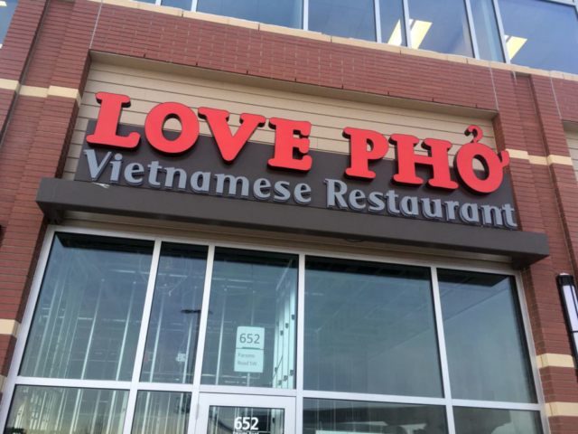 Channel Letters - Love Pho by LED Pros