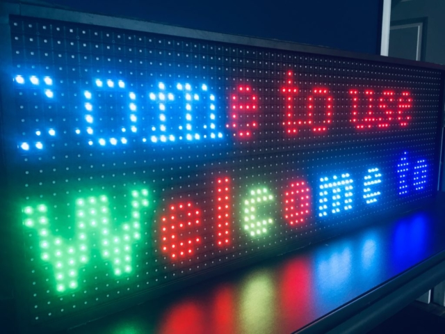 P13 Programmable LED Sign by LED Pros