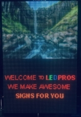 P4 Programmable LED Sign by LED Pros