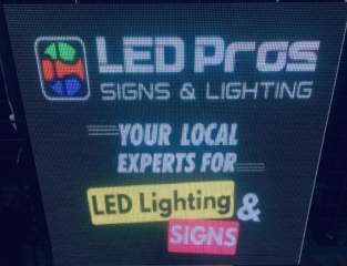 P5 Programmable LED Sign by LED Pros