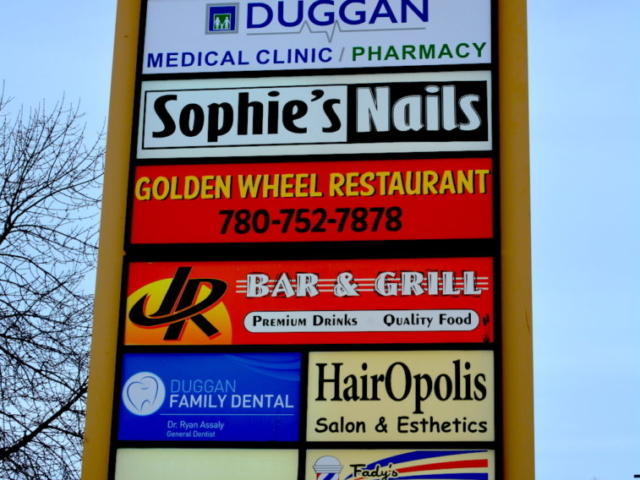 Pylon Sign - Golden Wheel Restaurant by LED Pros