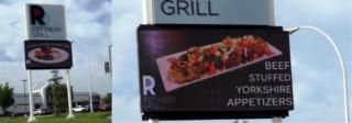 Pylon Sign - Refinery Grill