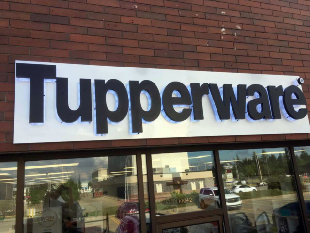 Channel Letters - Tupperware by LED Pros