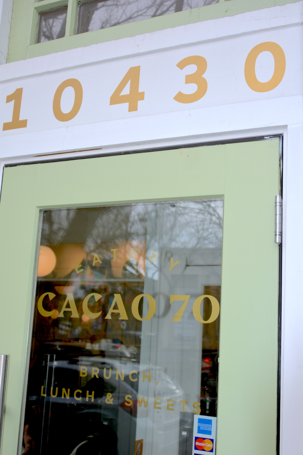 Window Decals - Cacao 70 by LED Pros