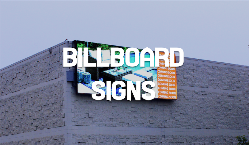 BILLBOARDS SIGNS